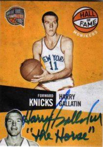 Autograph Harry Gallatin
