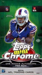 Topps Chrome Mini Football