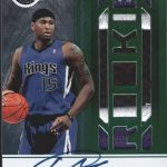 DeMarcus Cousins Panini Certified rookie auto
