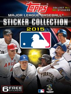 Topps 2015 Stickers
