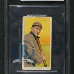 Ty Cobb T206 bat on shoulder