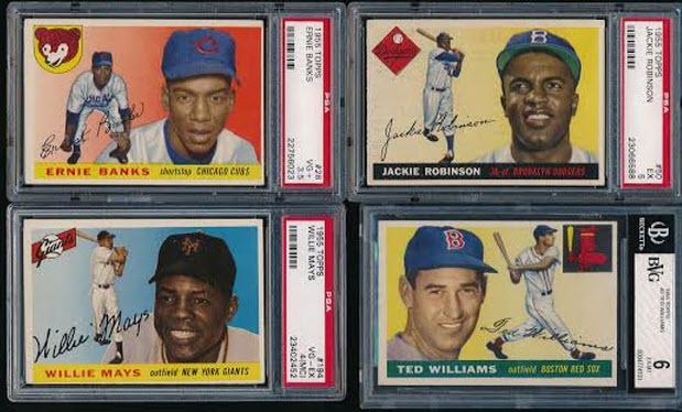 1955 Topps baseball cards