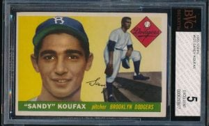 Sandy Koufax 1955 Topps