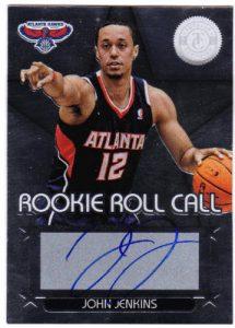John Jenkins Rookie Roll Call auto