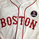Game-worn Red Sox jersey Boston Strong