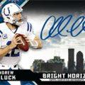 Andrew Luck autograph 2015 Topps High Tek Bright Horizons