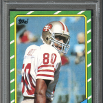 Jerry Rice 1986 Topps rookie card PSA 10