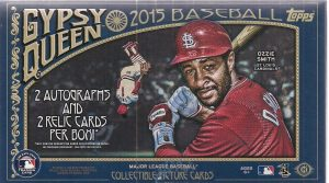 Topps 2015 Gypsy Queen box
