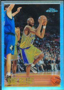 Kobe Bryant Chrome Refractor Rookie