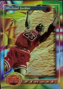 Finest Refractors 1993 Michael Jordan