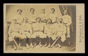 Red Stockings 1869 CDV