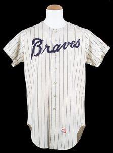 Hank Aaron 1970 Atlanta Braves jersey