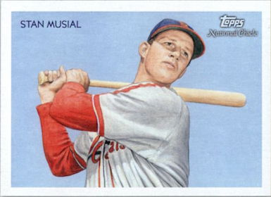 Stan Musial 2010 Topps National Chicle Card #243