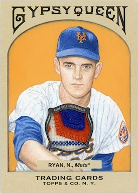 Nolan Ryan 2011 Gypsy Queen art relic