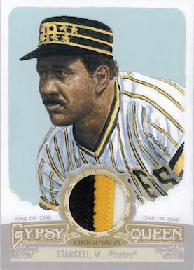 Willie Stargell 2012 Gypsy Queen art