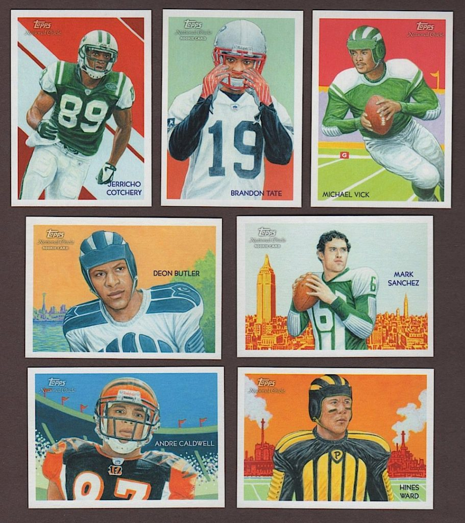 2009 National Chicle Football cards