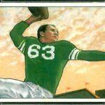 YA Tittle 1950 Bowman rookie card