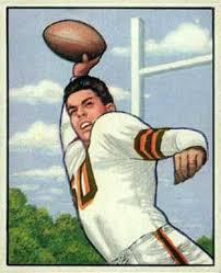Otto Graham 1950 Bowman rookie card