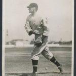 1929 photo Walter Johnson manager Senators