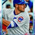 Kris Bryant rookie card 2015 Topps