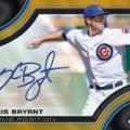 Kris Byant 2015 Bowman Chrome Prime Positions