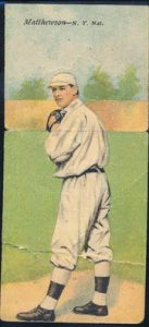 Christy Mathewson T201 Mecca Double Folders