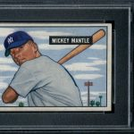 Mickey Mantle 1951 Bowman Baseball