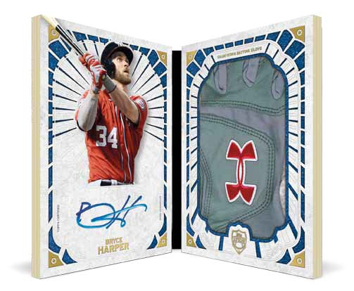 Bryce Harper 2015 Topps Supreme Touch of the Game