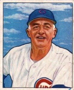 Frankie Frisch 1950 Bowman