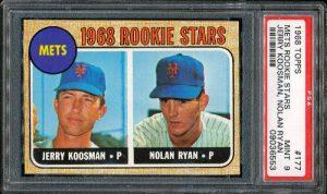 Nolan Ryan 1968 Topps rookie