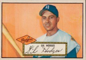 Gil Hodges 1952 Topps Baseball