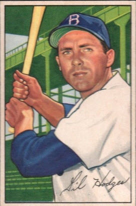 Bowman 1952 Gil Hodges