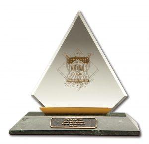 Tony Gwynn auction NL Player of the Month Award
