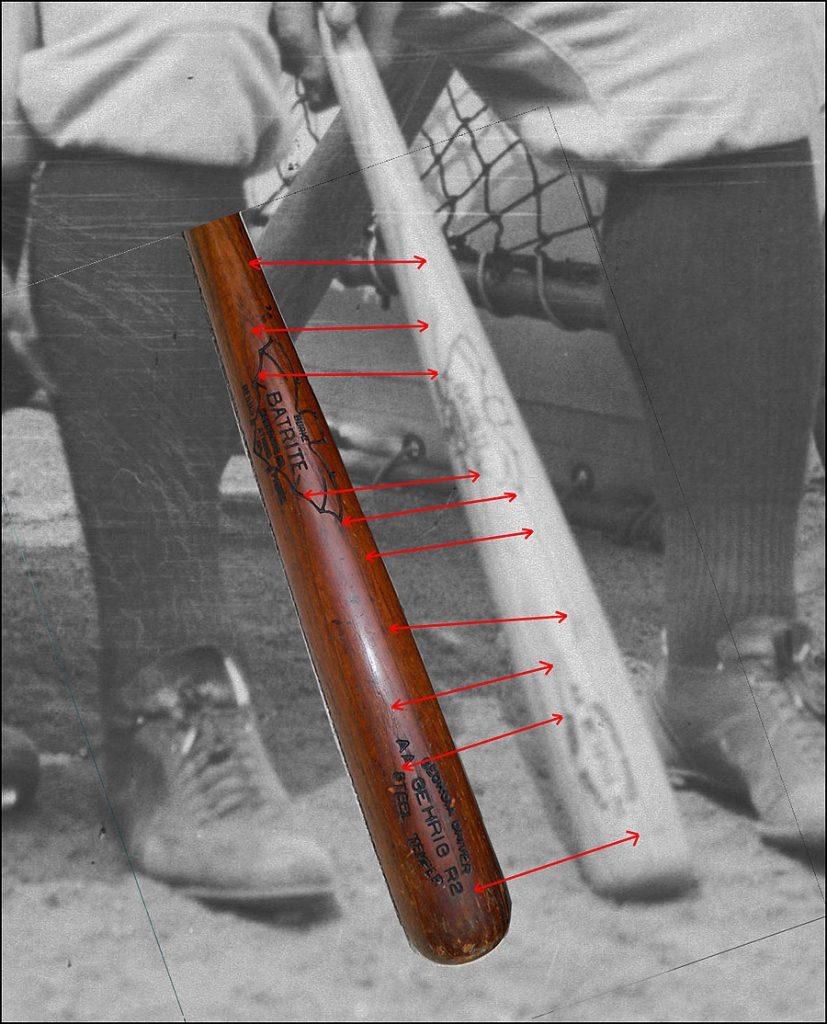Gehrig bat photo match