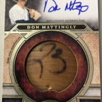 2015 Topps Tier One Don Mattingly bat knob
