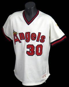 Game-worn Nolan Ryan jersey