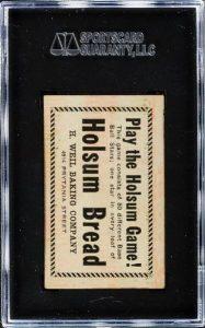 Holsum 1921 Babe Ruth back