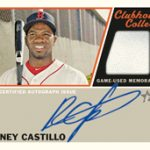 2015 Heritage High Numbers Relic Auto Rusney Castillo