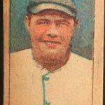 Babe Ruth 1920 strip card