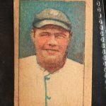 1920 Babe Ruth strip card