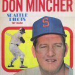 Don Mincher 1970 Topps Poster