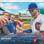 Kris Bryant 2015 Topps Update base rookie card