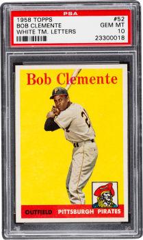 Roberto Clemente 1958 Topps PSA 10
