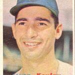 Sandy Koufax 1957 Topps