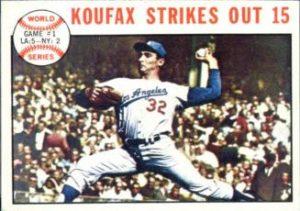 Sandy Koufax 1964 Topps 136