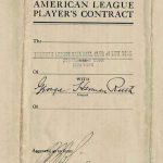 1922 Babe Ruth Yankees contract
