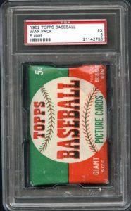 1952 Topps unopened pack