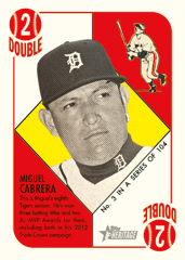 Miguel Cabrera 2015 Topps Heritage 51 Collection