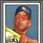 Mickey Mantle 1952 Topps PSA 8