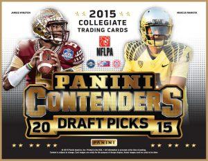 Panini Contenders Draft Picks 2015 box